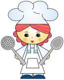 Znalezione obrazy dla zapytania kucharka rysunek